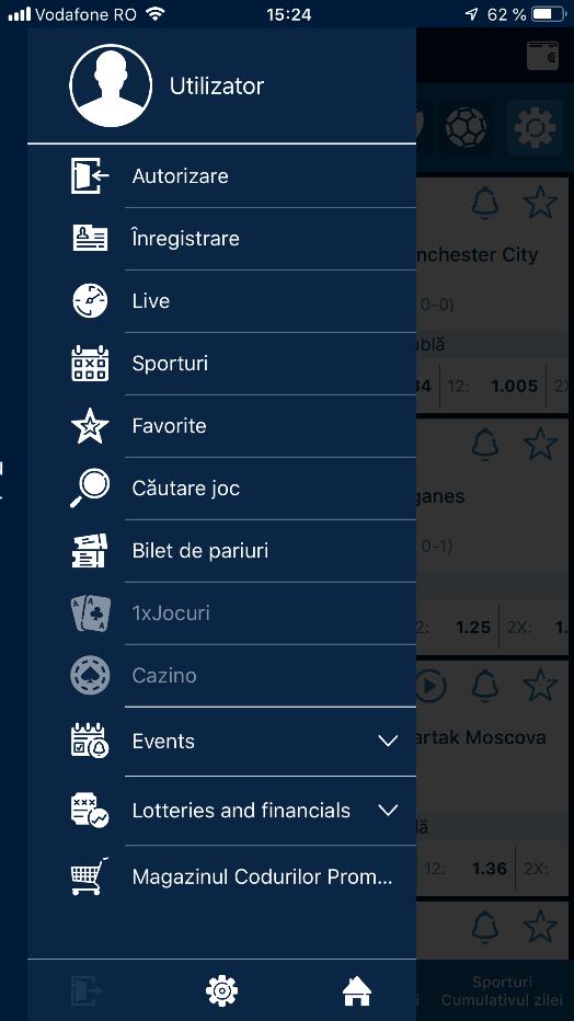 instalează 1xbet app