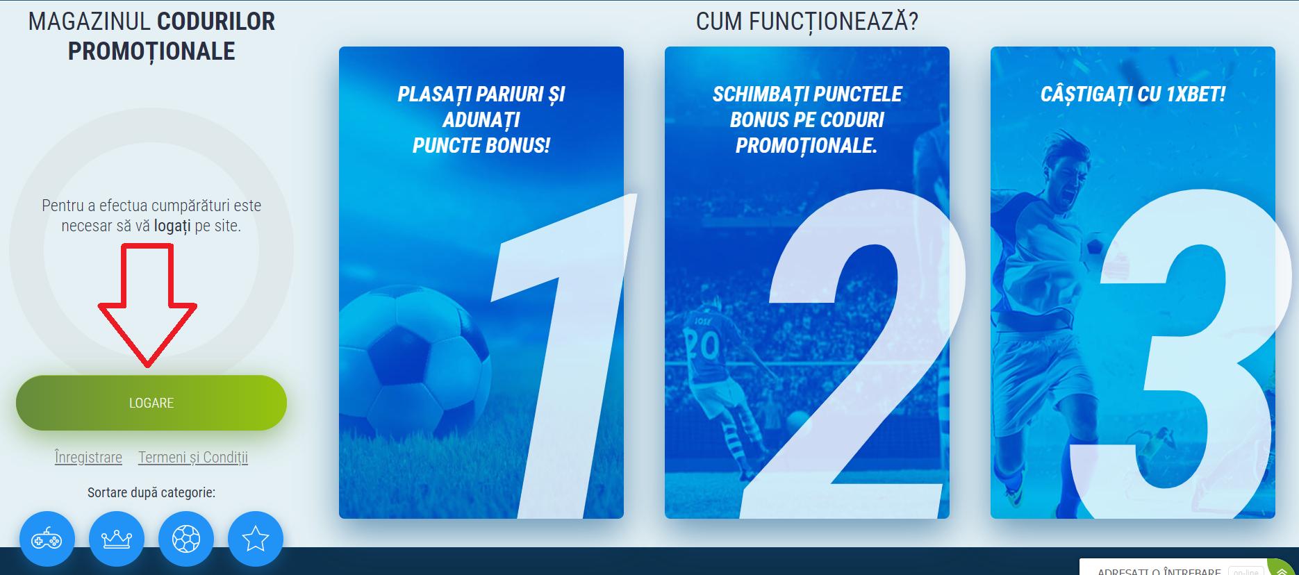 1xBet Romania - pariuri promițătoare